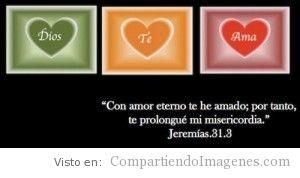 Te amo con amor eterno