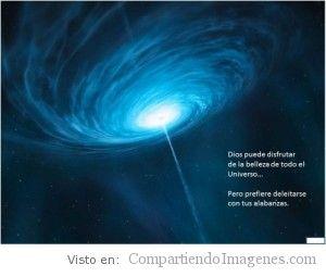 Dios eres mi universo