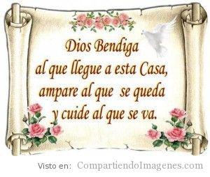 Dios bendiga a todos