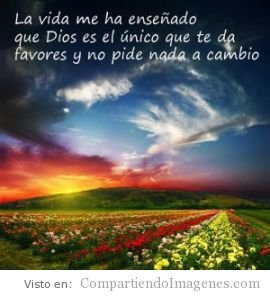 Dios llena tu vida de favores