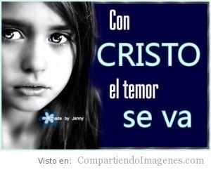 Con Cristo se va el temor