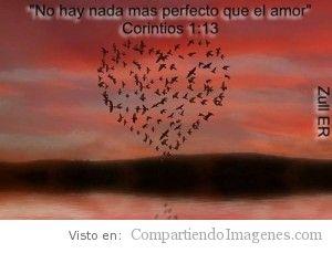 No hay nada mas perfecto que el amor!