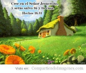 Cree en el Senor