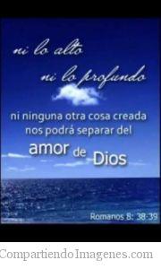 Nada nos separara del amor de Dios