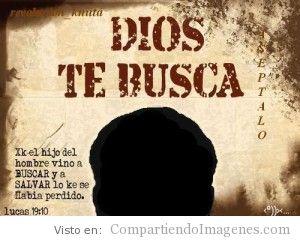 Jesus vino a Salvar lo que se habia perdido