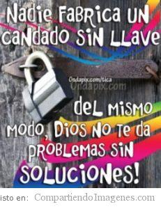 El Señor tiene las soluciones