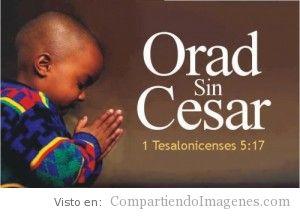 Orad sin Cesar