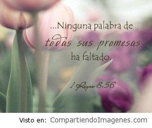 El Señor es fiel y cumple sus promesas