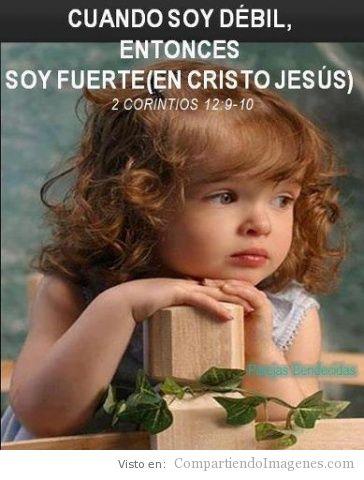 soy fuerte en cristo imagenes cristianas para facebook