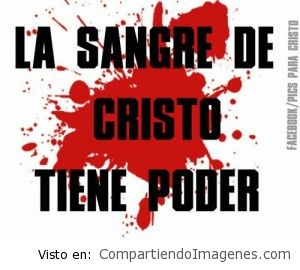 Hay poder en la sangre de Jesus