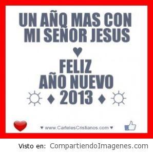 Un año mas con Jesus