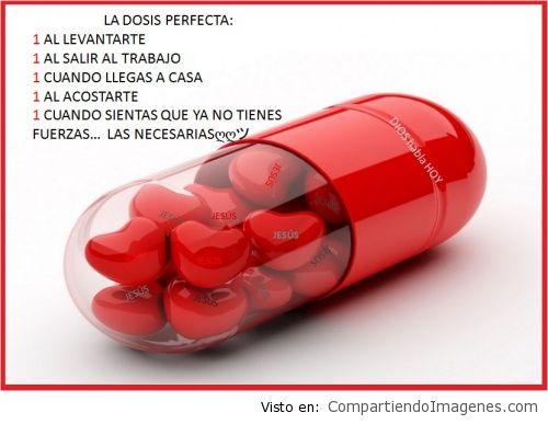 La dosis perfecta