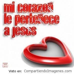 Mi corazón le pertenece a Jesus
