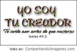 Dios es nuestro Creador!