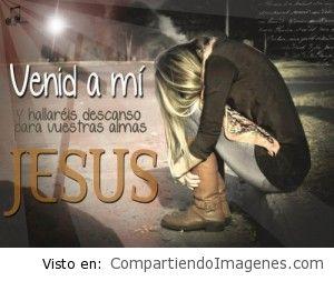 Venid a mi dice Jesus