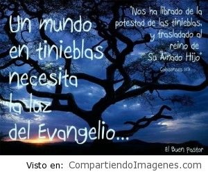 La luz del evangelio
