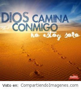 El Señor camina conmigo