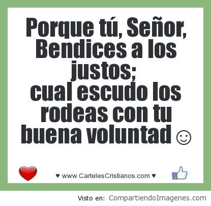 bendices a los justos