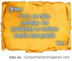 Sin ti Señor, la vida es mas dificil