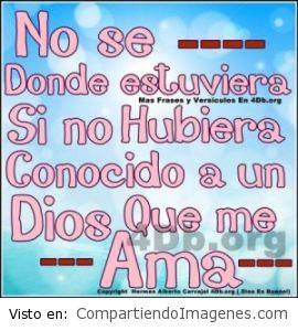 Dios me ama :)
