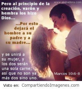 Varon y hembra los creo Dios