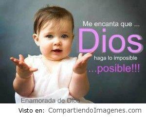 Dios TODO lo puede