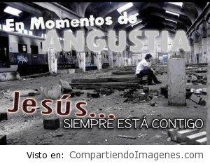 Jesús siempre esta contigo
