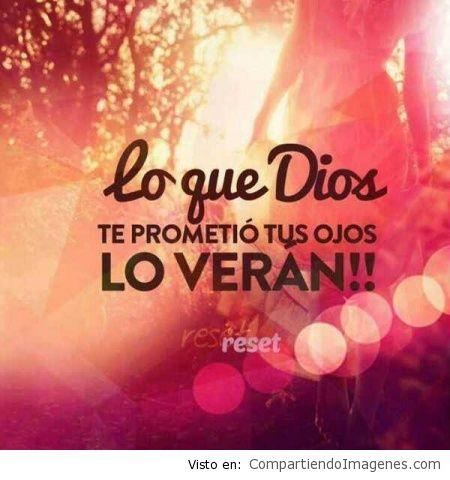 lo que dios prometio