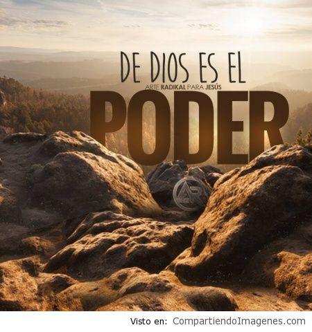 Dios es el poder