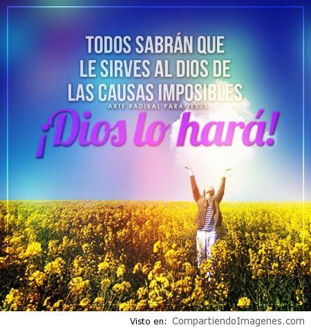 Dios lo hara