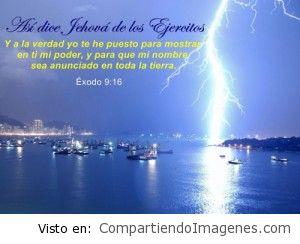 En toda la tierra sea el nombre de Dios anunciado