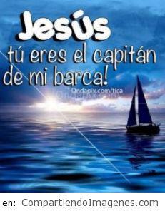 Eres el capitan de mi barca
