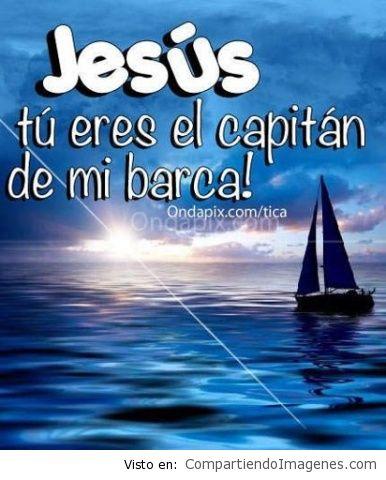 Jesus eres mi barca