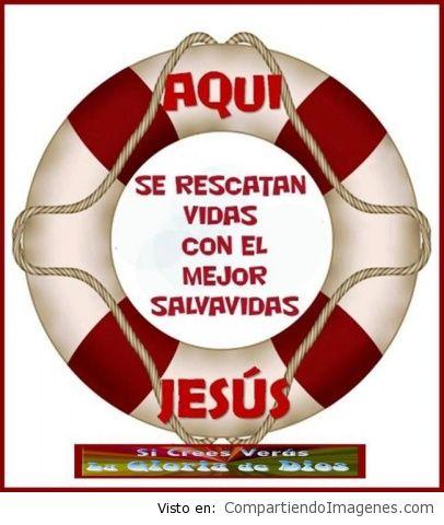 Jesus es mi salvavida