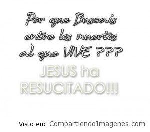 Jesús ha resucitado!