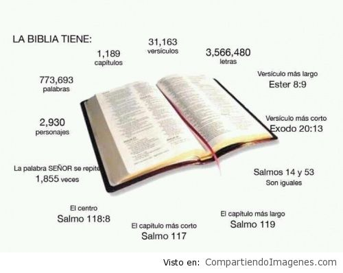 la biblia tiene