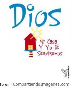 Mi casa y yo te serviremos Señor Jesus