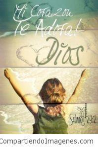 Mi Corazon te adora Jesus
