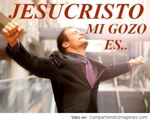 Mi gozo es Cristo