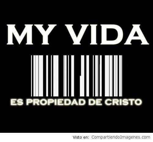 mi vida pertenece a Cristo