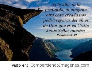 Nada nos separara de tu amor Señor Jesus