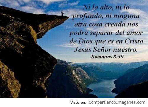 Nada nos separara del amor de Cristo2