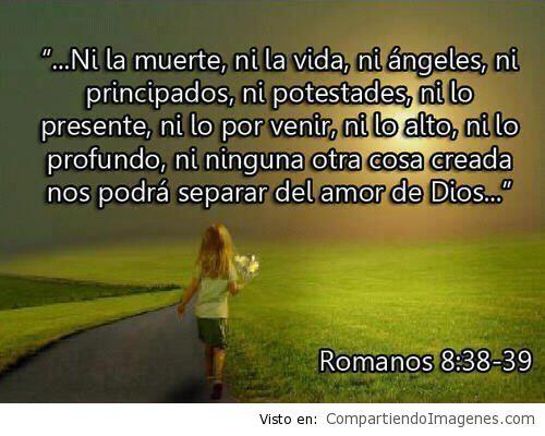 Nada nos separara del amor de Cristo3