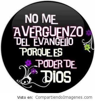 No me averguenzo del evangelio