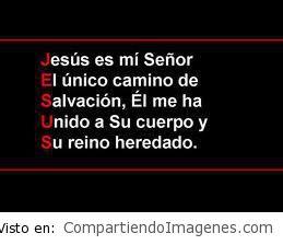 Jesús es mi Señor