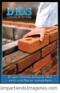 Permitele a Dios construir tu vida