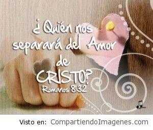 Quien nos separara del amor de Dios
