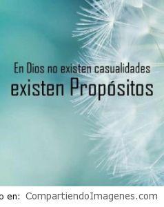 En Dios no existen casualidades…