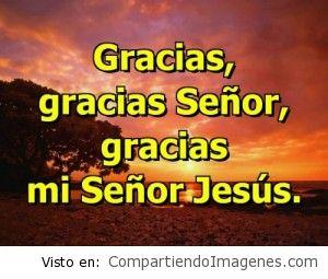 Gracias Señor Jesus