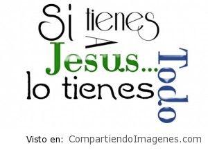 Con Cristo todo lo tenemos